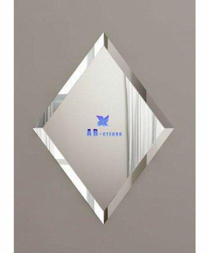 Зеркальная плитка 150*150 с фацетом 15 мм