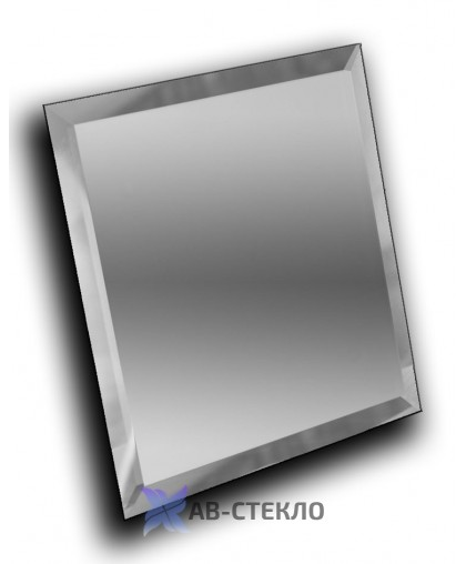 Зеркало с фацетом 15 мм 400х300